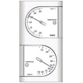 タニタ TANITA TT-518 温湿度計 パールホワイト [アナログ][TT518PR]