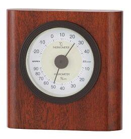 エンペックス EMPEX INSTRUMENTS TM-6469 温湿度計 イートン ウォルナット [アナログ][TM6469]