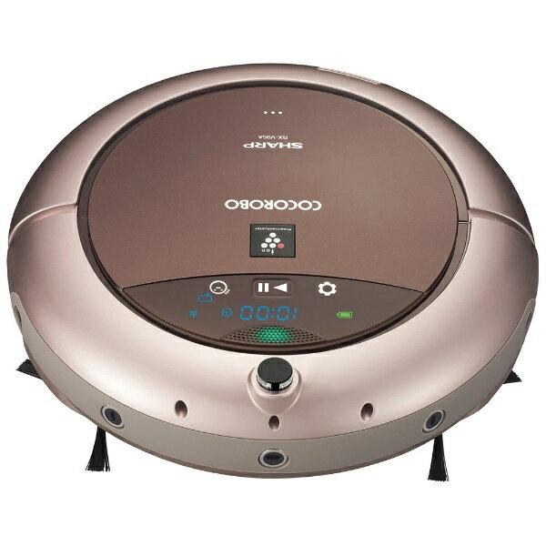 【送料無料】 シャープ SHARP 【4時間限定 1500円クーポン 6/25 20:00 〜 23:59】ロボット掃除機 「ロボット家電 COCOROBO(ココロボ)」 RX-V95A-N ゴールド系[RXV95A]