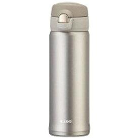 オルゴ ALLGO ステンレスマグボトル ワンタッチ栓 500ml シャンパングレー MBS-500-CG[MBS500]