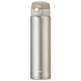 オルゴ ALLGO ステンレスマグボトル ワンタッチ栓 600ml シャンパングレー MBS-600-CG[MBS600]