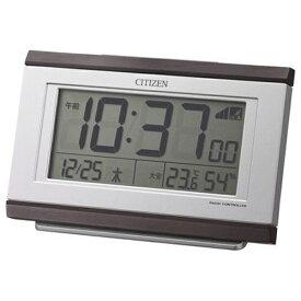 リズム時計 RHYTHM 電波目覚まし時計 「パルデジットキング」 8RZ161006