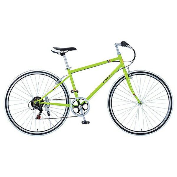 【送料無料】 ルノー 700×28C型 クロスバイク RENAULT CRB7006S(グリーン/430サイズ) 11130-11【組立商品につき返品不可】 【代金引換配送不可】