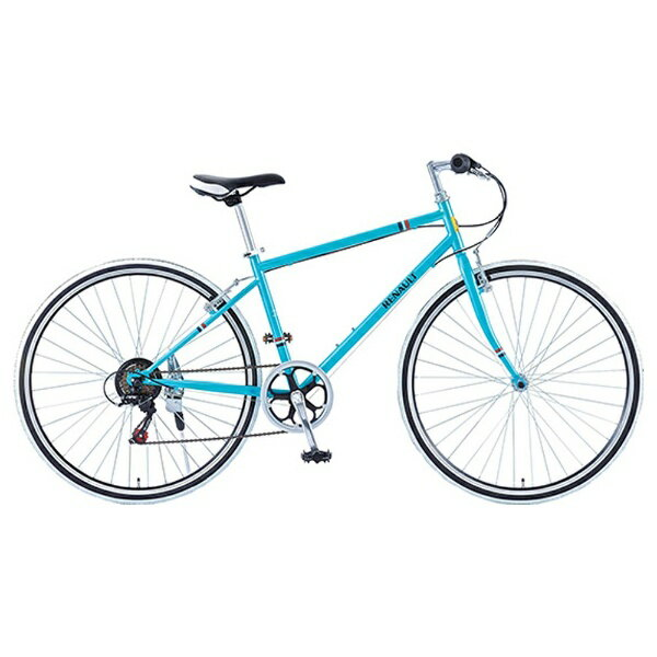 【送料無料】 ルノー 700×28C型 クロスバイク RENAULT CRB7006S(ブルー/430サイズ) 11130-03【組立商品につき返品不可】 【代金引換配送不可】