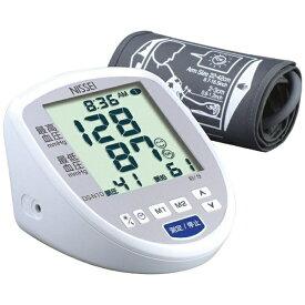 日本精密測器 NISSEI デジタル血圧計 NISSEI ホワイト DS-N10 [上腕(カフ)式][DSN10]