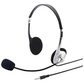 サンワサプライ SANWA SUPPLY MMHS526TAB ヘッドセット [φ3.5mmミニプラグ /両耳 /ヘッドバンドタイプ][MMHS526TAB]