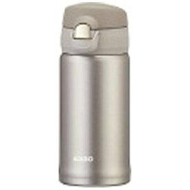 オルゴ ALLGO ステンレスマグボトル ワンタッチ栓 350ml シャンパングレー MBS-350-CG[MBS350]