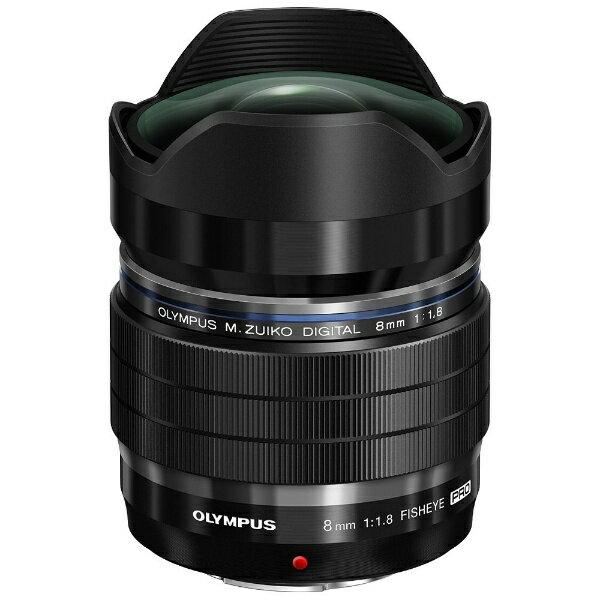 【送料無料】 オリンパス カメラレンズ M.ZUIKO DIGITAL ED 8mm F1.8 Fisheye PRO【マイクロフォーサーズマウント】[ED8MMF1.8FISHEYEPRO]