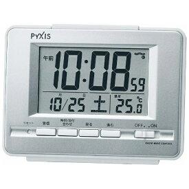 セイコー SEIKO 目覚まし時計 銀色メタリック NR535W [デジタル /電波自動受信機能有][NR535W]