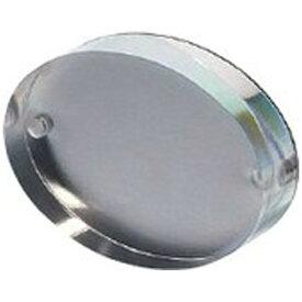 P&P アクリルオーバルフォトフレーム(65×90mm/ステンレスプレートバック) ACS-0343[OPA0343]