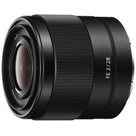 ソニー SONY カメラレンズ FE 28mm F2【ソニーEマウント】[SEL28F20Q]