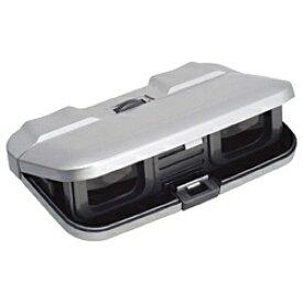 ケンコー・トキナー KenkoTokina 3倍双眼鏡 「プリアン」 3×25 スリム (シルバー)[PLIANT3X25スリム]