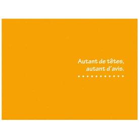 ハクバ HAKUBA お手軽写真台紙 「ランス 2面」 ヨコ (L/オレンジ) MRC-LYOR[フォトマウントランスLヨコOR]