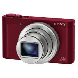 ソニー SONY DSC-WX500 コンパクトデジタルカメラ Cyber-shot(サイバーショット) レッド[DSCWX500RC]