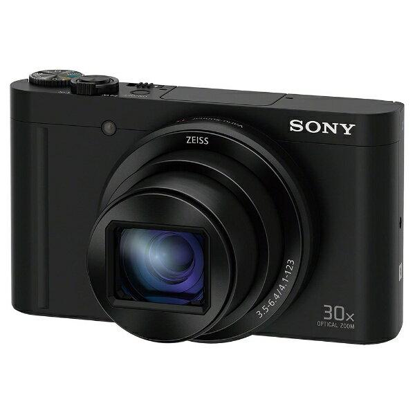 【送料無料】 ソニー SONY DSC-WX500 コンパクトデジタルカメラ Cyber-shot(サイバーショット) ブラック[DSCWX500BC]