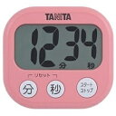 タニタ TANITA デジタルタイマー でか見えタイマー TD-384-PK フランボワーズピンク[TD384PK]