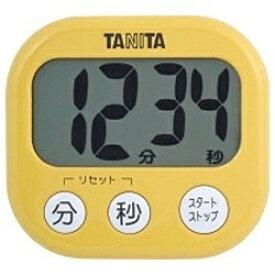 タニタ TANITA デジタルタイマー でか見えタイマー TD-384-MY マンゴーイエロー[TD384MY]【rb_pcp】