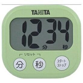 タニタ TANITA デジタルタイマー でか見えタイマー TD-384-GR ピスタチオグリーン[TD384GR]