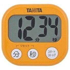 タニタ TANITA デジタルタイマー でか見えタイマー TD-384-OR アプリコットオレンジ[TD384OR]