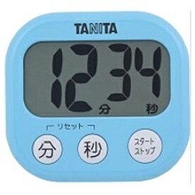 タニタ TANITA デジタルタイマー でか見えタイマー TD-384-BL ブルー[TD384BL]