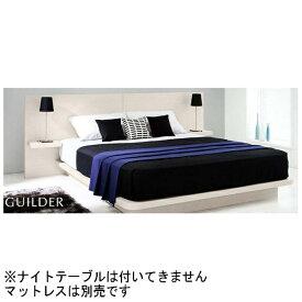日本ベッド NIHON BED 【フレームのみ】収納なし ギルダー(ナイトテーブル無)(シングルサイズ/シルクホワイト)【日本製】 【代金引換配送不可】