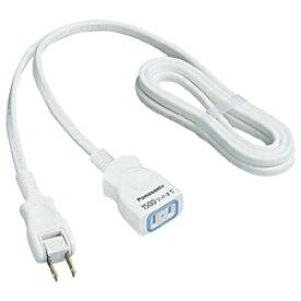 パナソニック Panasonic WHA4912WP テーブルタップ 延長コードX ホワイト WHA4912WP [2.0m /1個口 /スイッチ無][WHA4912WP] panasonic