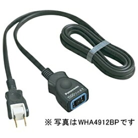 パナソニック Panasonic WHA4915BP テーブルタップ 「延長コードX」 (1個口・5m・ブラック) WHA4915BP ブラック[WHA4915BP] panasonic