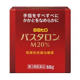 【第3類医薬品】 パスタロンM20%(60g)【wtmedi】佐藤製薬 sato