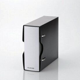 エレコム ELECOM CD/DVD/マルチメディア用不織布ケース/2穴リング式トレイ専用ファイル 14-36枚収納 ブラック CCD-BC02BK[CCDBC02BK]