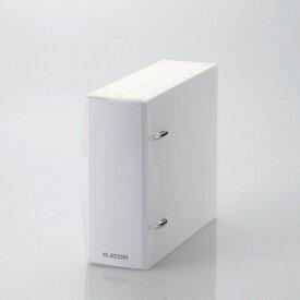 エレコム ELECOM CD/DVD/マルチメディア用不織布ケース/2穴リング式トレイ専用ファイル 14-36枚収納 クリア CCD-BC02CR[CCDBC02CR]