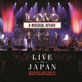 ソニーミュージックマーケティング イル・ディーヴォ/ライヴ・アット武道館 通常盤 【CD】