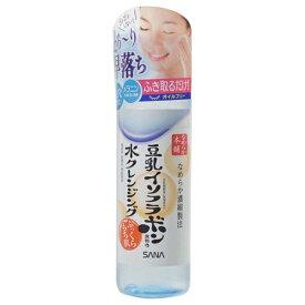 常盤薬品 TOKIWA Pharmaceutical SANA(サナ)なめらか本舗 豆乳イソフラボン含有の水クレンジング 200ml