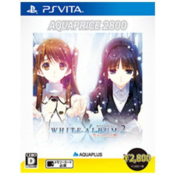 アクアプラス AQUAPLUS WHITE ALBUM2 -幸せの向こう側- AQUAPRICE2800【PS Vitaゲームソフト】