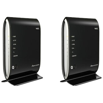 NEC Wireless LAN routers & child set Aterm WG2600HP Ethernet Converter set PA-WG2600HP/E [wireless LAN ac/n/a/g/b-with wire LAN 1000Base-t-Android/iOS/Mac/Win]