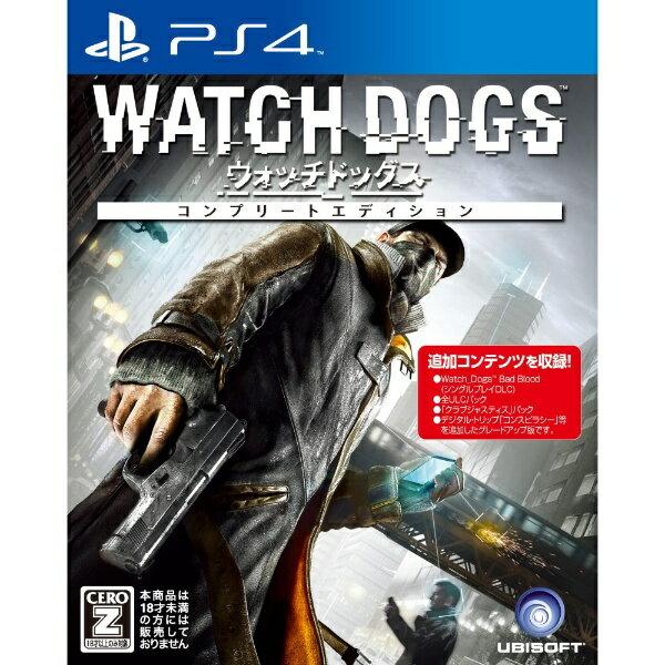 ユービーアイソフト ウォッチドッグス コンプリートエディション【PS4ゲームソフト】