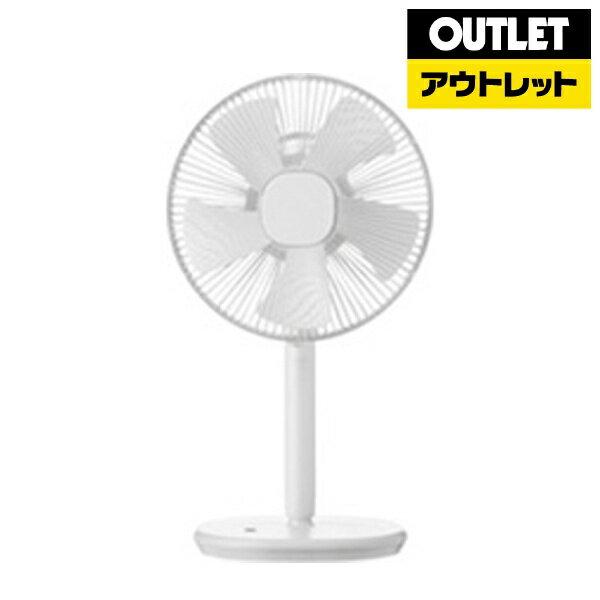 【送料無料】 プラスマイナスゼロ PLUS MINUS ZERO XQS-Z710-W リビング扇風機 ホワイト [リモコン付き][XQSZ710][k-ksale]