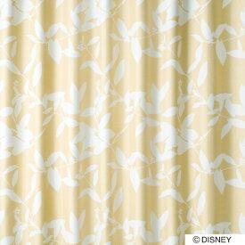 スミノエ SUMINOE ドレープカーテン ミッキー/ブロードリーフ(100×135cm/ベージュ)【日本製】[生産完了品 在庫限り][M1122100X135]