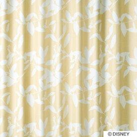 スミノエ SUMINOE ドレープカーテン ミッキー/ブロードリーフ(100×200cm/ベージュ)【日本製】[生産完了品 在庫限り][M1122100X200]