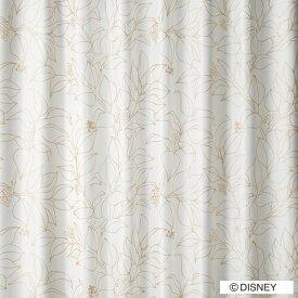スミノエ SUMINOE ドレープカーテン ミッキー/スリップリーフ(100×200cm/ゴールド)【日本製】[M1125100X200]