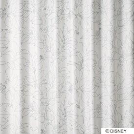 スミノエ SUMINOE ドレープカーテン ミッキー/スリップリーフ(100×200cm/シルバー)【日本製】[M1126100X200]