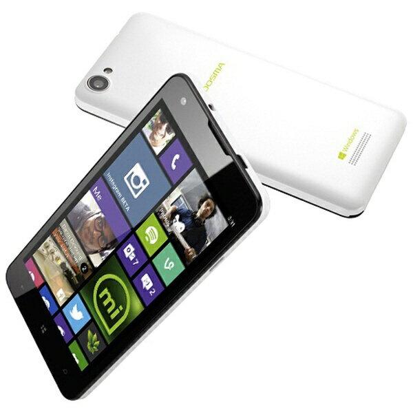 【送料無料】 マウスコンピュータ MADOSMA パールホワイト 「MADOSMAQ501WH」 Windows Phone 8.1・ 5型・メモリ/ストレージ:1GB/8GB microSIMx1 SIMフリースマートフォン[MADOSMAQ501WH]
