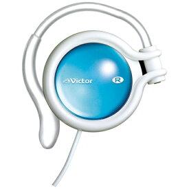 JVC ジェイブイシー 耳かけ型 HP-AL102 ホワイト& ラピスブルー [φ3.5mm ミニプラグ][HPAL102]