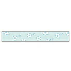 カシオ CASIO おなまえテープ サッカーボール柄テープ NAME LAND(ネームランド) XR-12E4 [黒文字 /12mm幅][XR12E4]