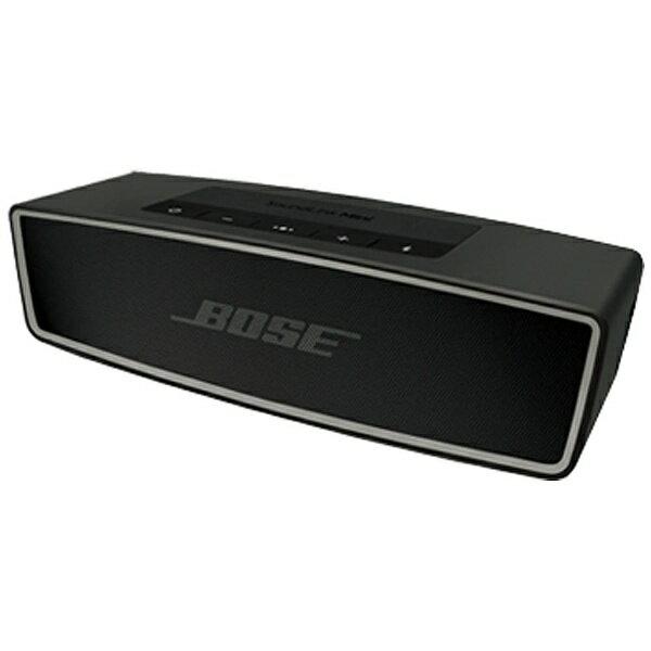 【送料無料】 BOSE ブルートゥーススピーカー (カーボン) SoundLink Mini Bluetooth対応 speaker II SLink Mini II[SOUNDLINKMINIIICBR]