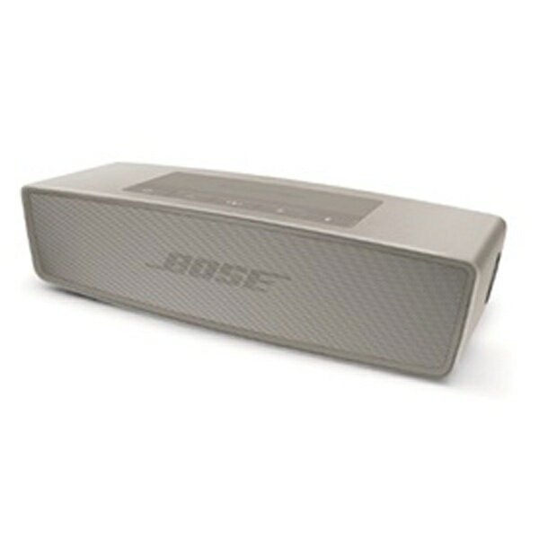 【送料無料】 BOSE ブルートゥーススピーカー (パール) SoundLink Mini Bluetooth対応 speaker II SLink Mini II[SOUNDLINKMINIIIPRL]