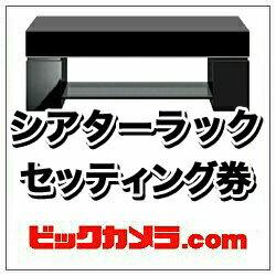 ビックカメラ シアターラック セッティング券 【設置商品とセット購入のみ有効】