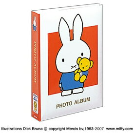 ナカバヤシ Nakabayashi ディック・ブルーナ 「ミッフィー」 1PLポケットアルバム(Lサイズ3段300枚収納/レッド) 1PL-158-R[1PL158R]