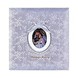 ナカバヤシ Nakabayashi フエルアルバム(婚礼用) 「ウエディングメモリー」 (Lサイズ/シルバー) ア-LK-609-W[アLK609W]