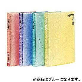 ナカバヤシ Nakabayashi ミニホルダー 「プチクルールA6」 (A6判/1段ポケット) HCC-A6-B[HCCA6B]