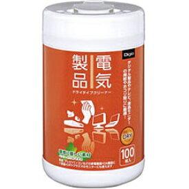 ナカバヤシ Nakabayashi Digio 電気製品用ドライタイプクリーナー (ボトルタイプ・100枚) DGCD-B3100[DGCDB3100]